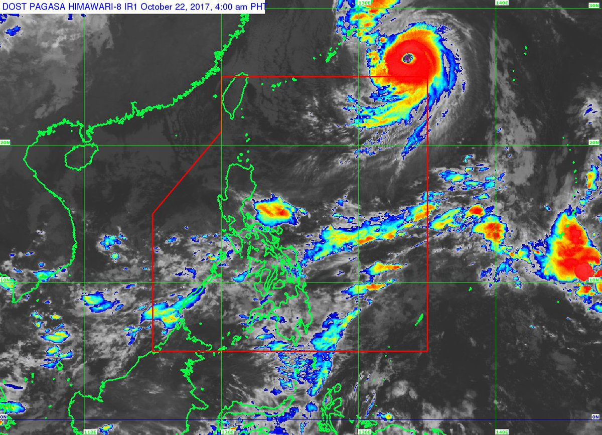 "Typhoon ""#PaoloPH"" is now outside the Philippine Area of Responsibility (PAR)."