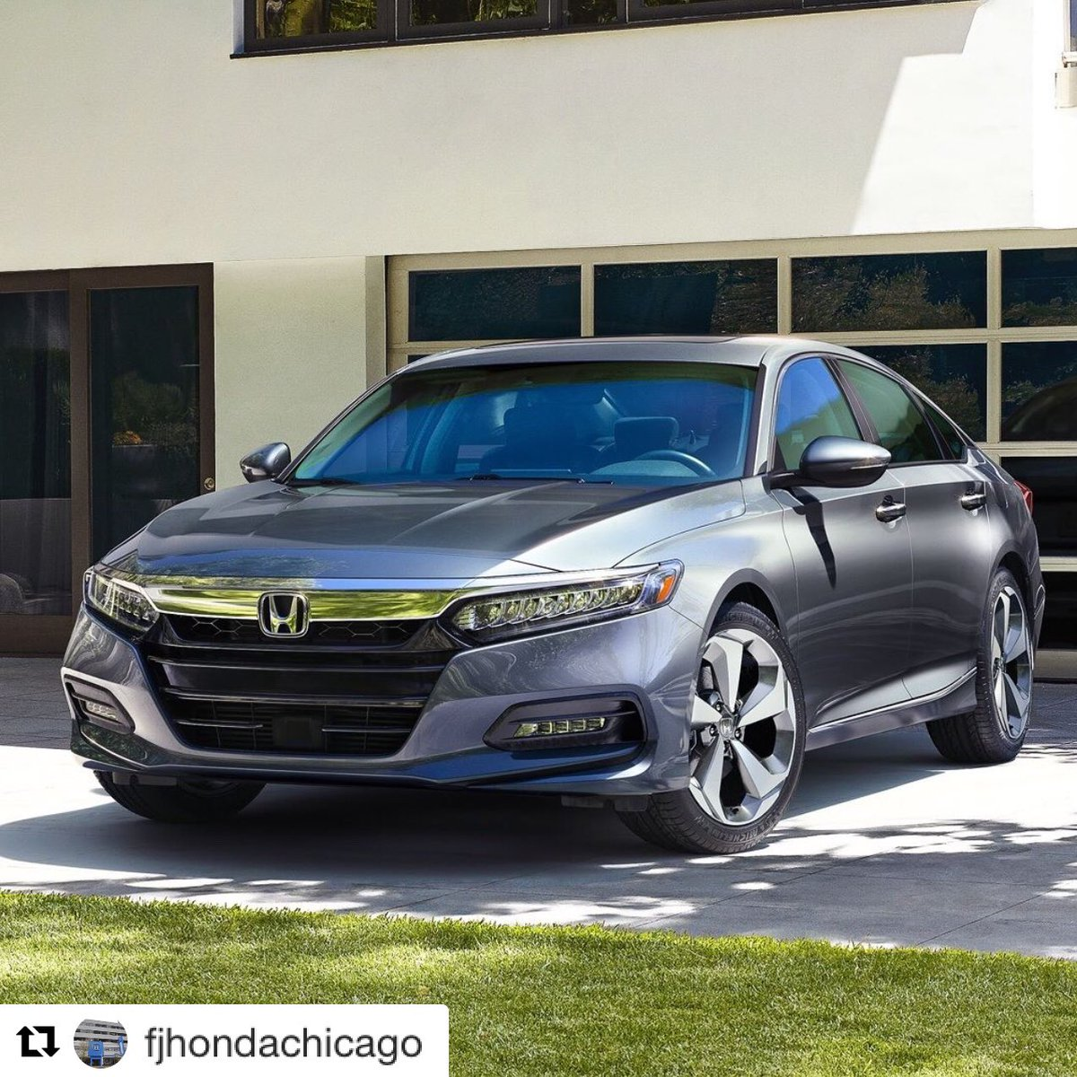 The ALL-NEW #2018 #Honda #Accord has Just Arrived! ・・#Repost @fjhondachicago #findenauto<br>http://pic.twitter.com/PZRYUgYIoI