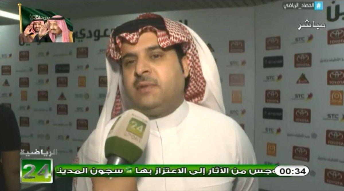 لقاء مع 'ناصر الهويدي' رئيس نادي #الباطن...