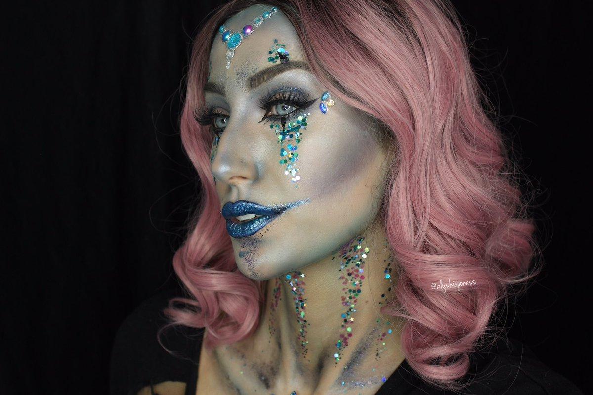 "alyshia jones on twitter: ""this evil clown sorcerer halloween makeup"