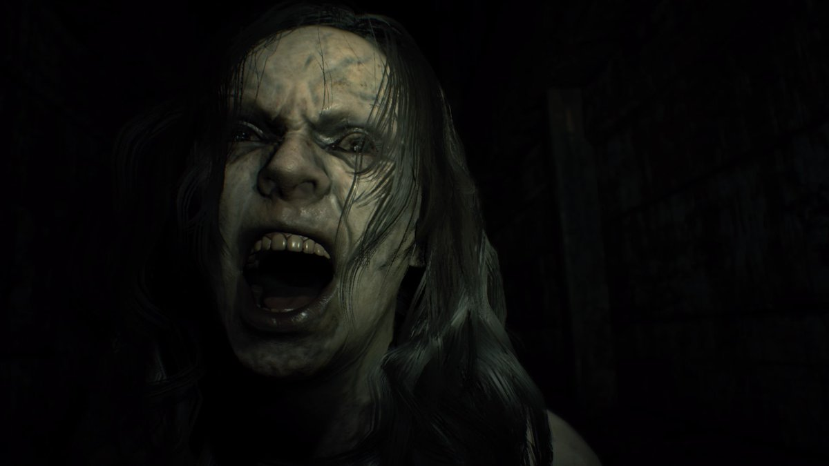Well, that wasn&#39;t scary at all... It was terrifying.   #ResidentEvilVII  #RE7  #PS4<br>http://pic.twitter.com/meVmOvdot8