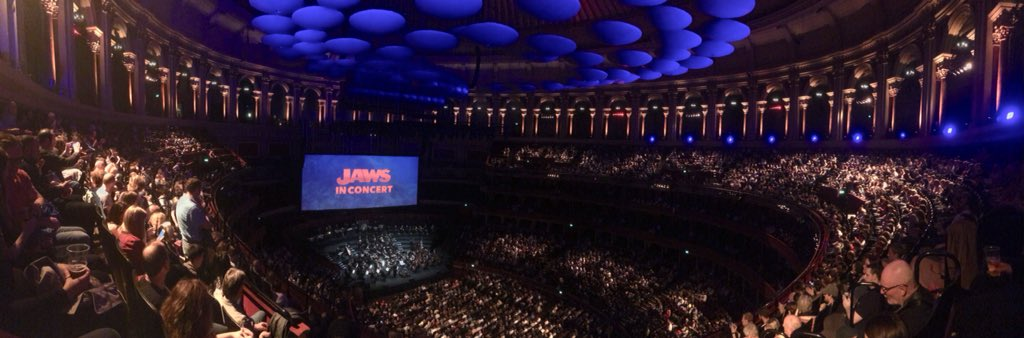 #JAWS in Concert at @RoyalAlbertHall - a relentlessly heart-pounding, intense group experience!<br>http://pic.twitter.com/rr5VKTvTaK