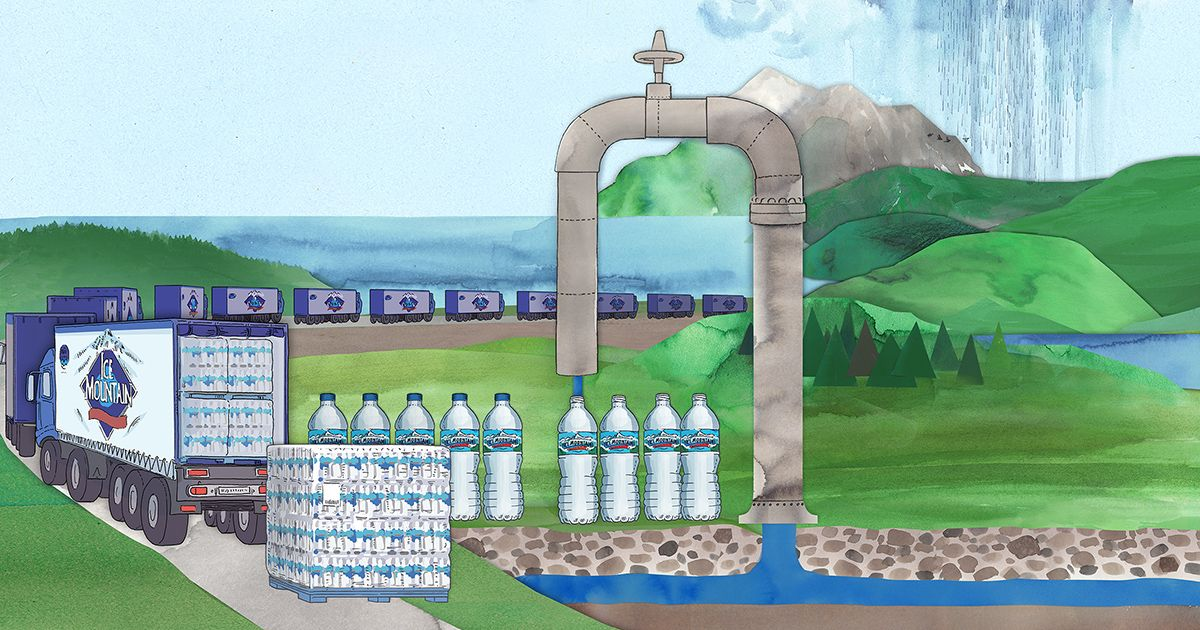 Nestlé makes billions bottling water it pays nearly nothing for https://t.co/QfJoCy542q