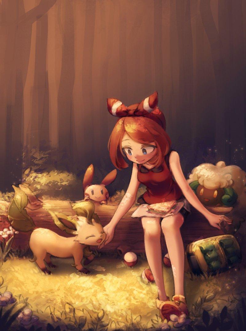 May, near autumn. #Pokemon #ポケモン<br>http://pic.twitter.com/Io0hxxuTIF