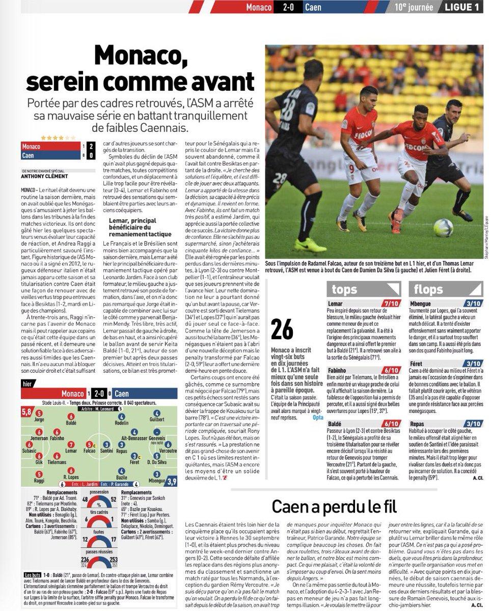 [10e journée de L1] AS Monaco 2-0 SM Caen DMsj-DcWkAU5EDl