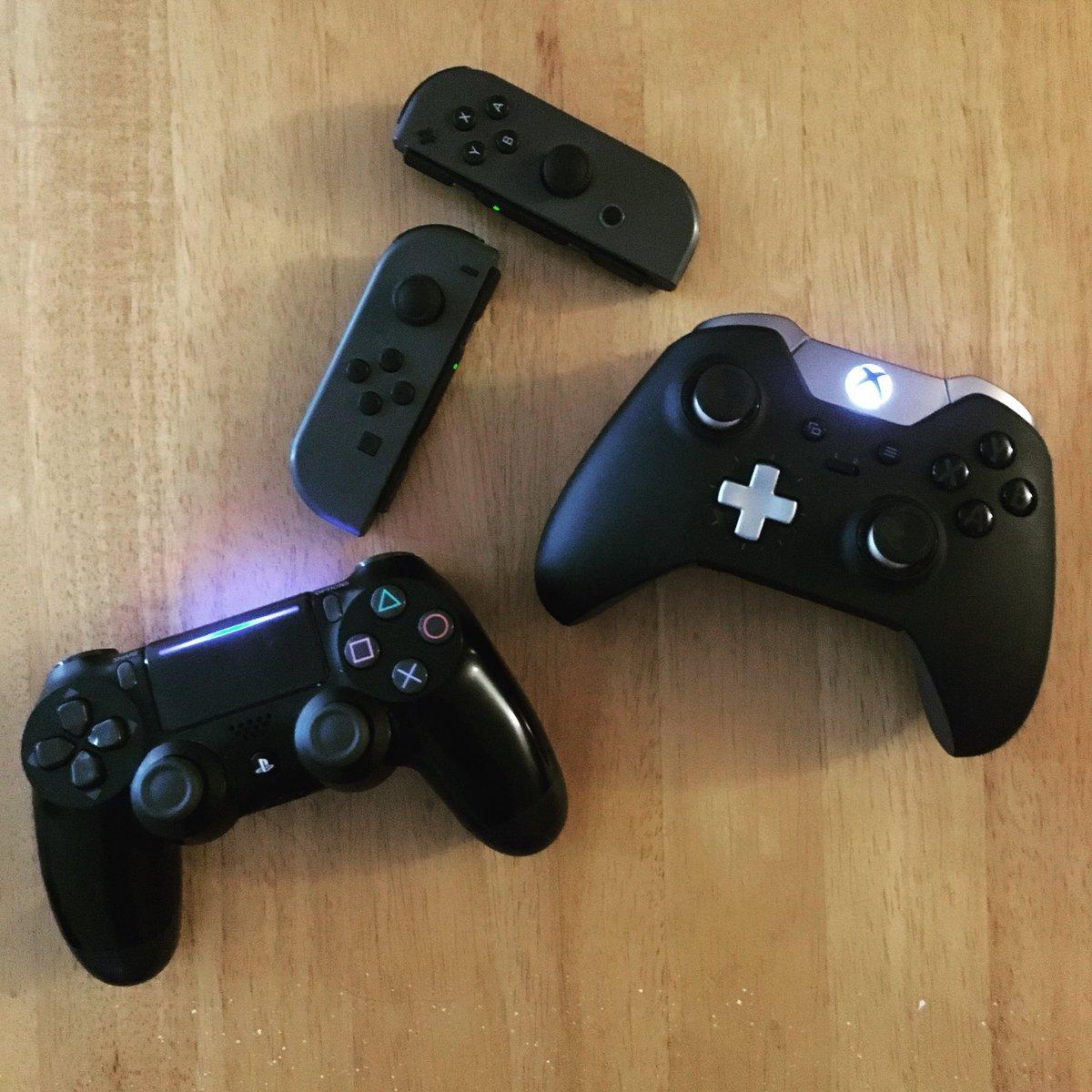 Game your way.  #PS4 #XboxOne #NintendoSwitch #Sony #Microsoft #Nintendo #Gaming<br>http://pic.twitter.com/Yg6ZqahMAI