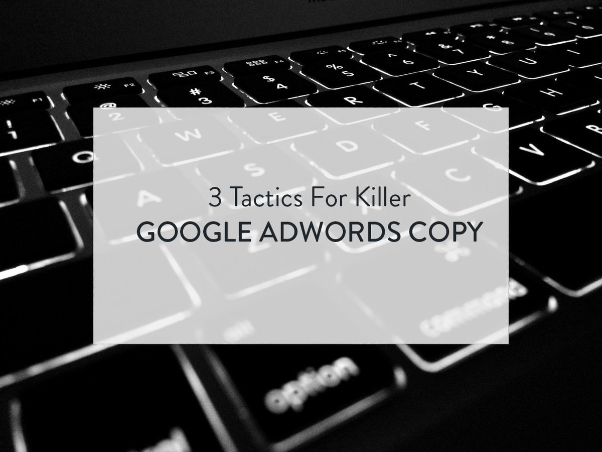 3 Keys to Writing Killer Google AdWords Copy  https:// buff.ly/2xU7Hl0  &nbsp;   #PPC #adwords <br>http://pic.twitter.com/TxZ9deecPm