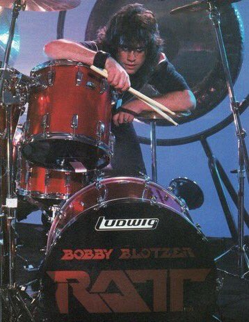 Happy Birthday To Bobby Blotzer - Ratt