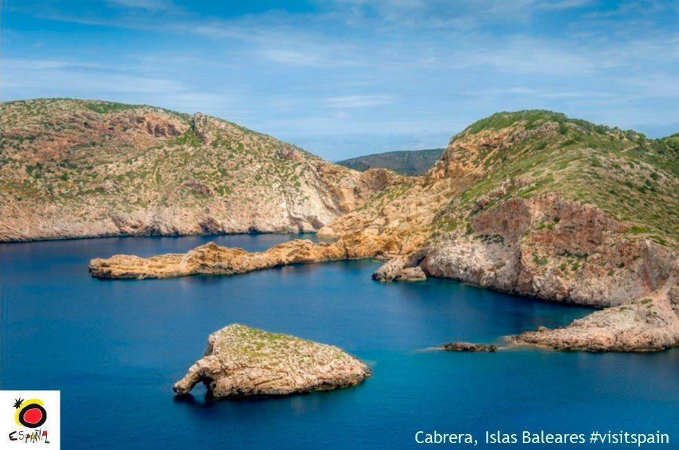 #GoodMorning from Archipiélago de #Cabrera #NationalPark in #Spain, an amazing place to visit!  #VisitSpain #BalearicIslands @BalearicTour<br>http://pic.twitter.com/fNUqXEcucr