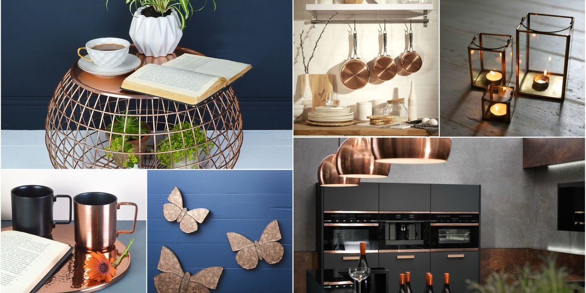 Metallics trend #copperaccents interior #inspiration | #Trends #DesignThinking #InteriorDesign |  http://www. housebeautiful.co.uk/decorate/looks /g206/metallics-trend-copper-accents-interior-inspiration/ &nbsp; … <br>http://pic.twitter.com/S9kIF9ngT6