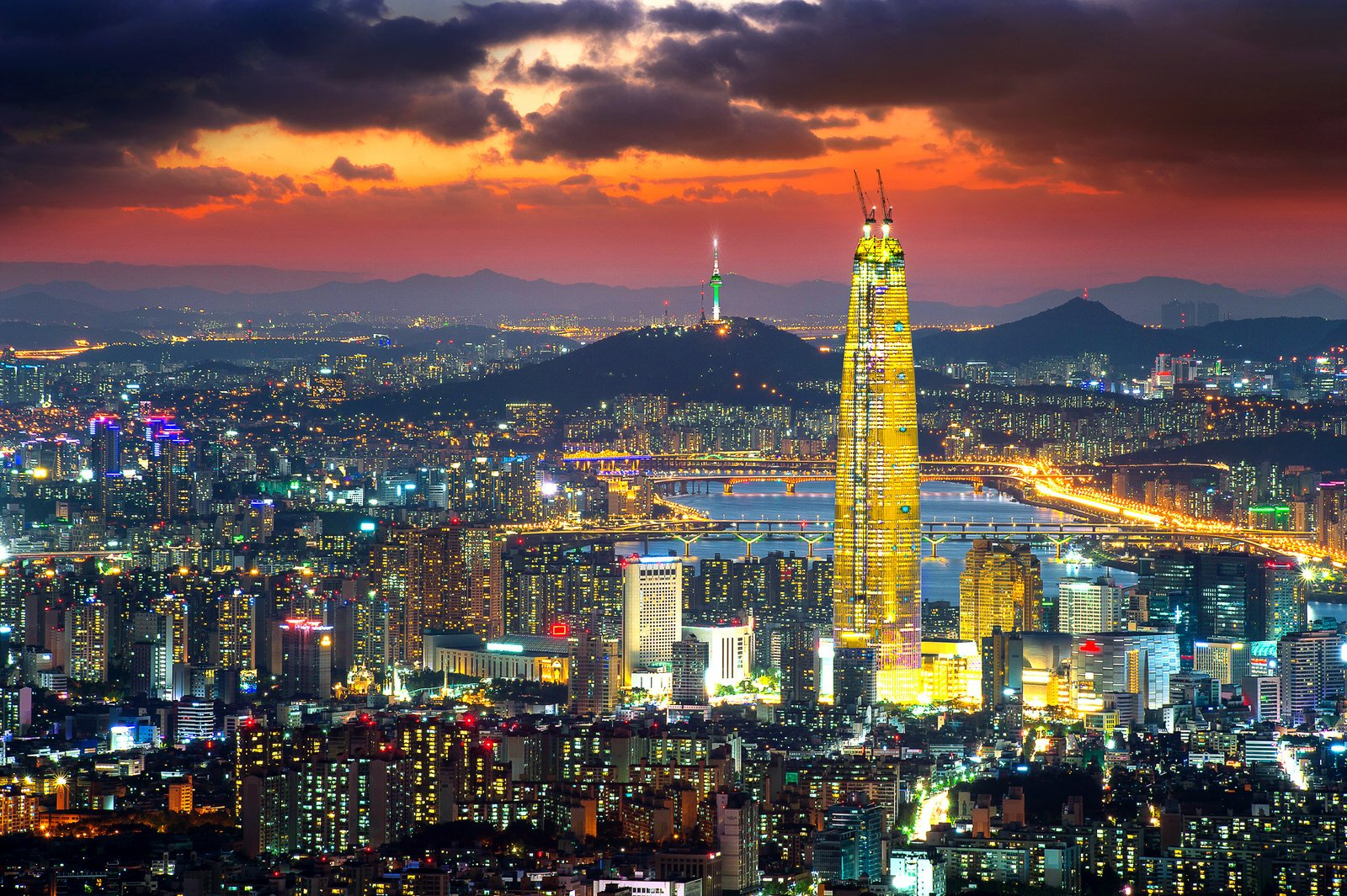 Южная корея картинки красивые, картинке