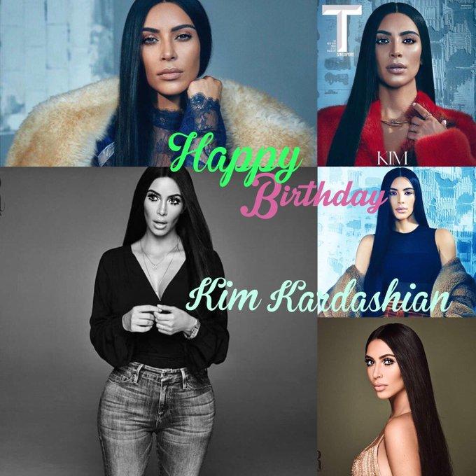 Happy birthday Kim Kardashian!!