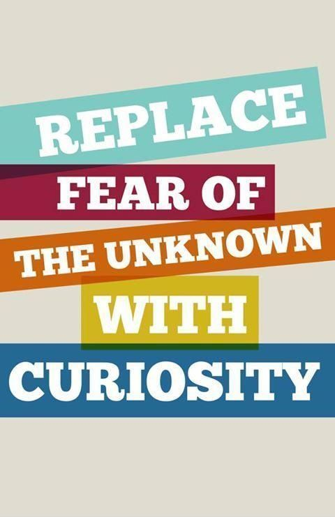Replace fear of the unknown with curiosity  #ThinkBIGSundayWithMarsha #makeyourownlane #defstar5 #mpgvip #quote<br>http://pic.twitter.com/1kMEiGc6Uh