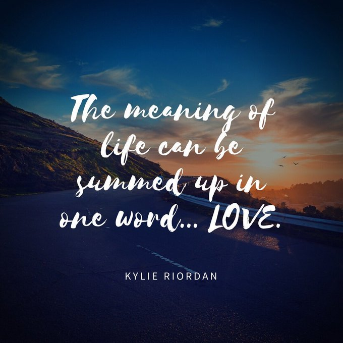 The #meaning of #life can be summed up in one word...#LOVE  via @mindfulheal  #ThinkBIGSundayWithMarsha #InspireThemRetweetTuesday #IQRTG<br>http://pic.twitter.com/UXFsccNCNK