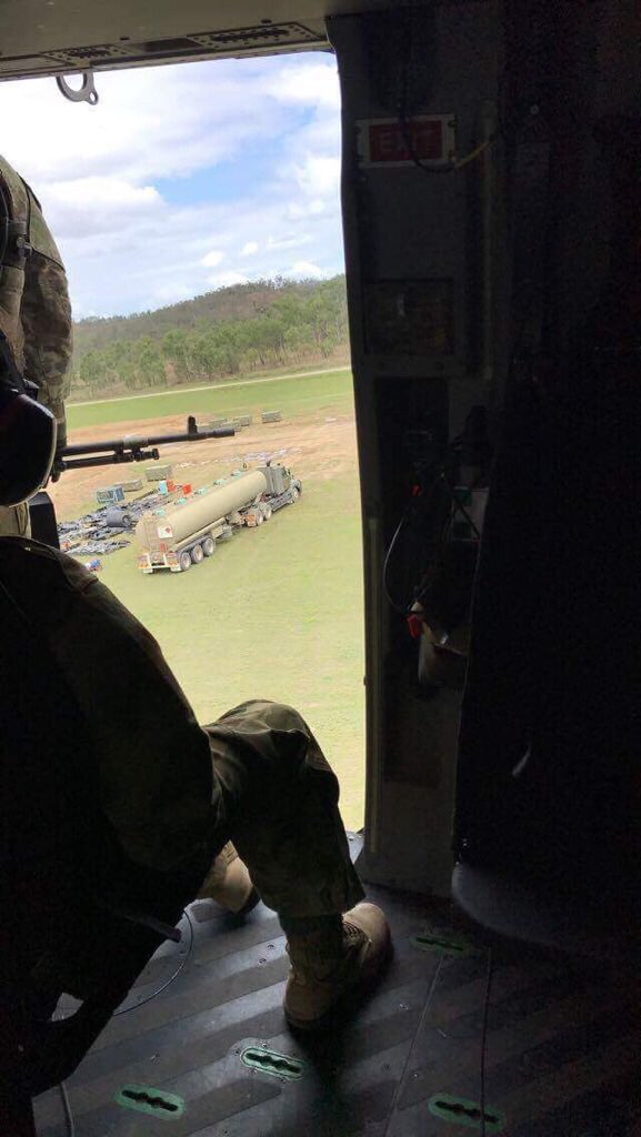 9FST #CFSB #logistics petroleum operators sustaining rotary wing operations on #ExDiamondRun @17CSSBDE @kim_felmingham @Army_ASLO<br>http://pic.twitter.com/zBjFxaeCSh