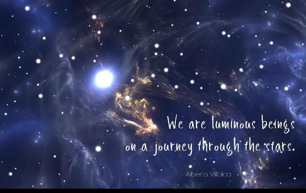 We are #luminous #beings on a #journey through the #stars  via @mindfulheal  #ThinkBIGSundayWithMarsha #InspireThemRetweetTuesday #IQRTG<br>http://pic.twitter.com/58McdhIuo8