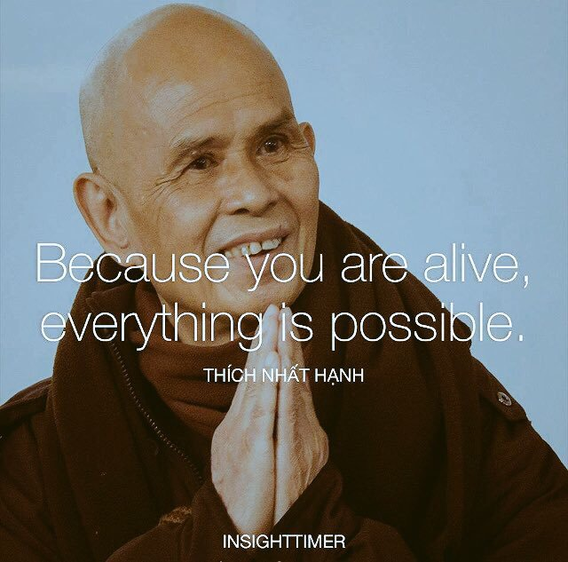 Because you are #alive, everything is #possible.  via @mindfulheal  #ThinkBIGSundayWithMarsha #InspireThemRetweetTuesday #IQRTG #JoyTrain<br>http://pic.twitter.com/za3hljx17r