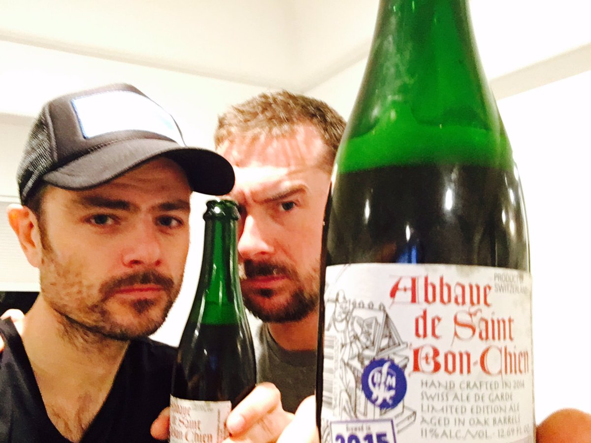 So, #Beer people of @Twitter - please shed some light on what the hell @richardipshort and I have come across here. #Cider? #Ale? #BFM <br>http://pic.twitter.com/bvMoBeEHRE