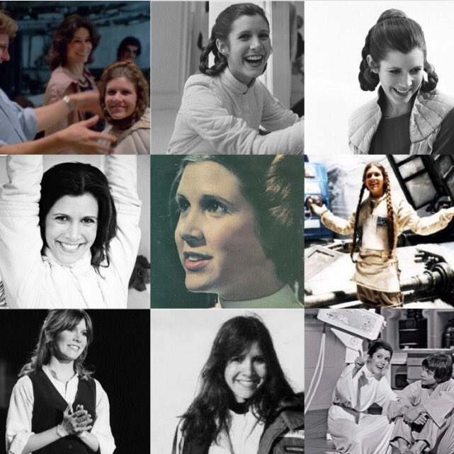 Happy Birthday Carrie Fisher, princess of our lives. We miss you