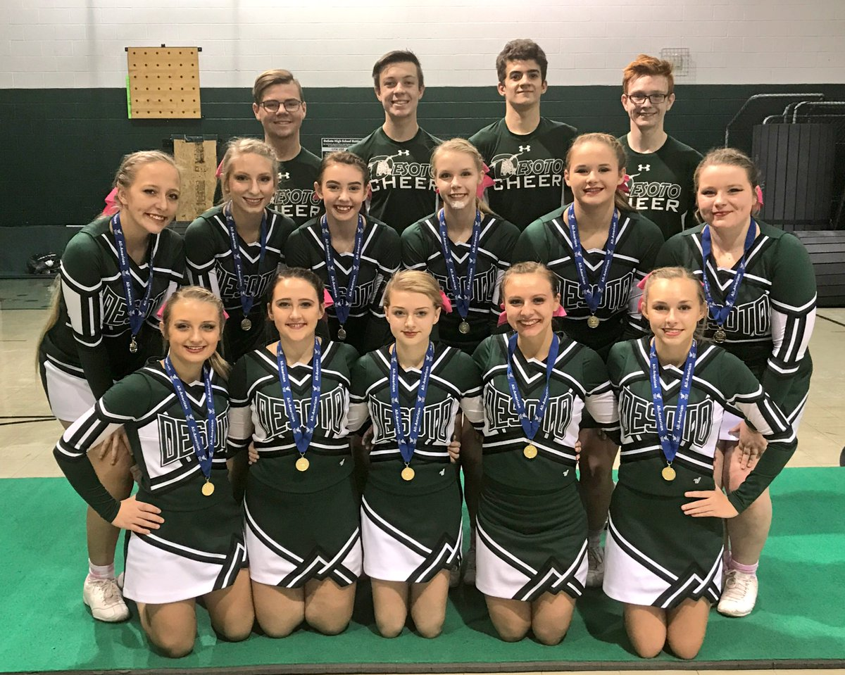 S/O to 16 of our Varsity Cheerleaders for making All American this year! NEW School record!   #WeAreProudOfYou #DHSCheer #AA #Proud <br>http://pic.twitter.com/TXZRKi3RaY