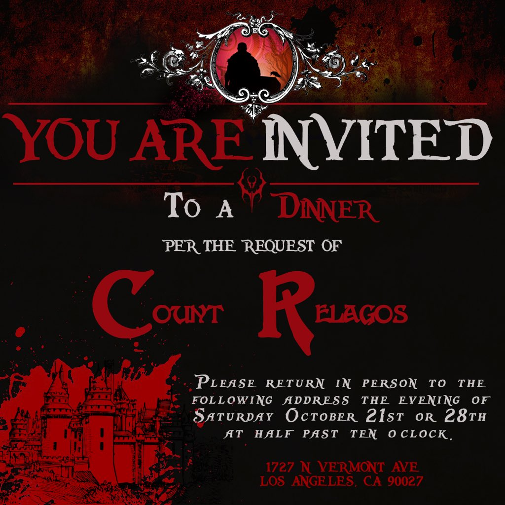 It's all improvised, but we are pretty sure there will be undead fighting. And you're cordially invited.   #DnD #nerd #geek #improv #vampire<br>http://pic.twitter.com/NJYSphMi9V