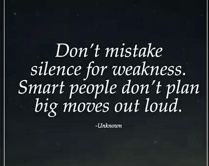 Don&#39;t mistake silence for weakness... #ThinkBIGSundayWithMarsha #defstar5 #Mpgvip #IQRTG #makeyourownlane #spdc #SuccessTRAIN #JoyTrain<br>http://pic.twitter.com/1iM9XyAUOl
