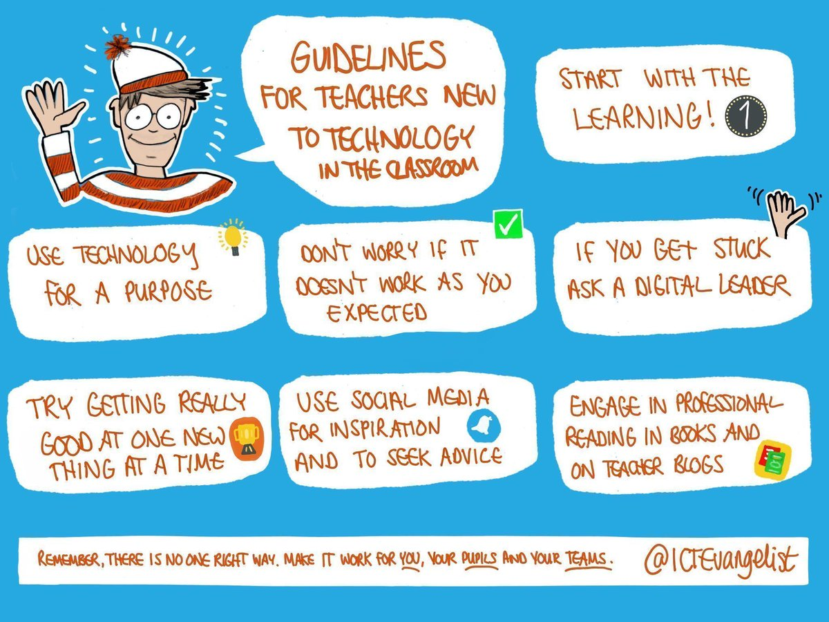 Guidelines 4 teachers new to technology in the classroom  #edtech #edtechchat #elearning #edchat #aussieED #sunchat<br>http://pic.twitter.com/rTi0FDCrV2