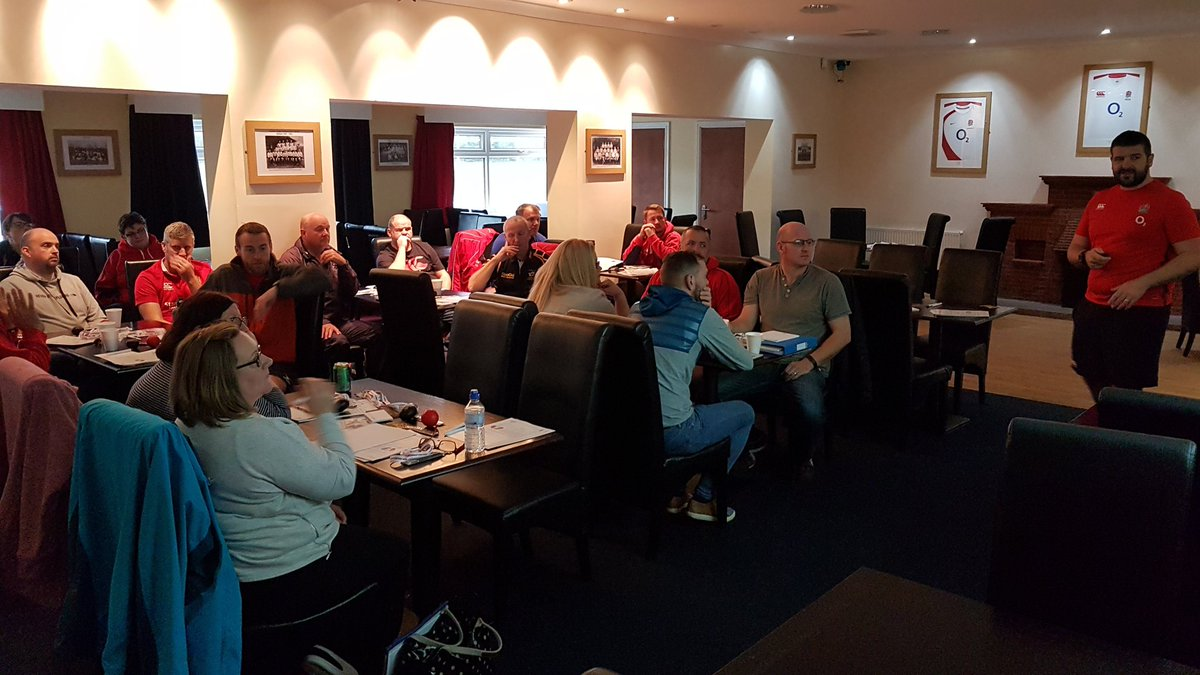 Good attendance at today&#39;s RugbySafe course led by @East_Cumbria_RU #rugbyfamily  @CumbriaRDO<br>http://pic.twitter.com/kCfE3N0Yf0