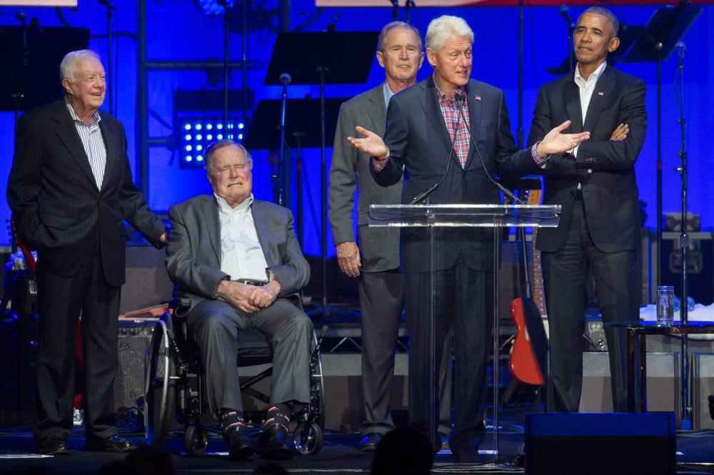 لماذا اعتلى 5 رؤساء #أمريكيين المسرح؟ ht...