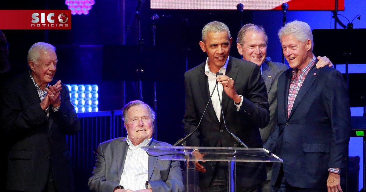 Cinco ex-presidentes dos EUA juntam-se para angariar dinheiro para vítimas de furacões https://t.co/fzzEgv9cYJ