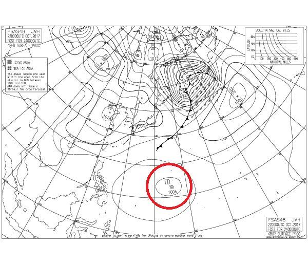 天気図 米軍 NOAAのGFSによる数値予報天気図 10日間3時間毎