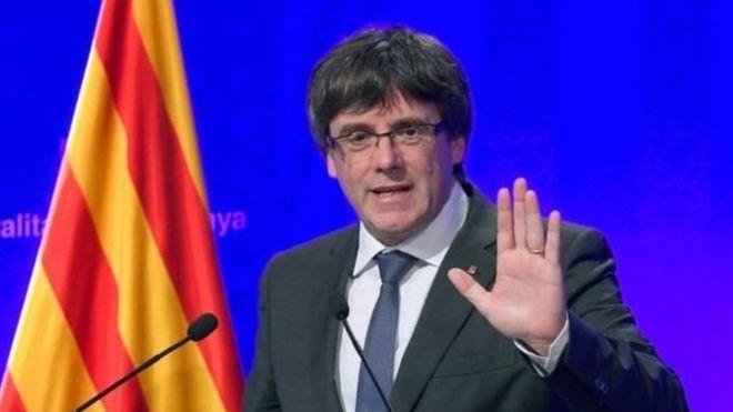 رئيس #إقليم_كتالونيا ينتقد الإجراءات #ال...