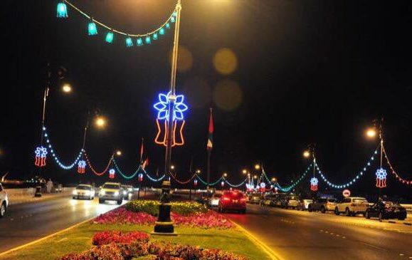 عمان نيوز: بدء تركيب الزينة في شوارع الع...