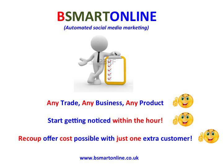 BSMARTONLINE grows Signup now  http://www. bsmartonline.co.uk  &nbsp;   #SMEs #startups #smallbusinesses #local<br>http://pic.twitter.com/7CSTihuVM8