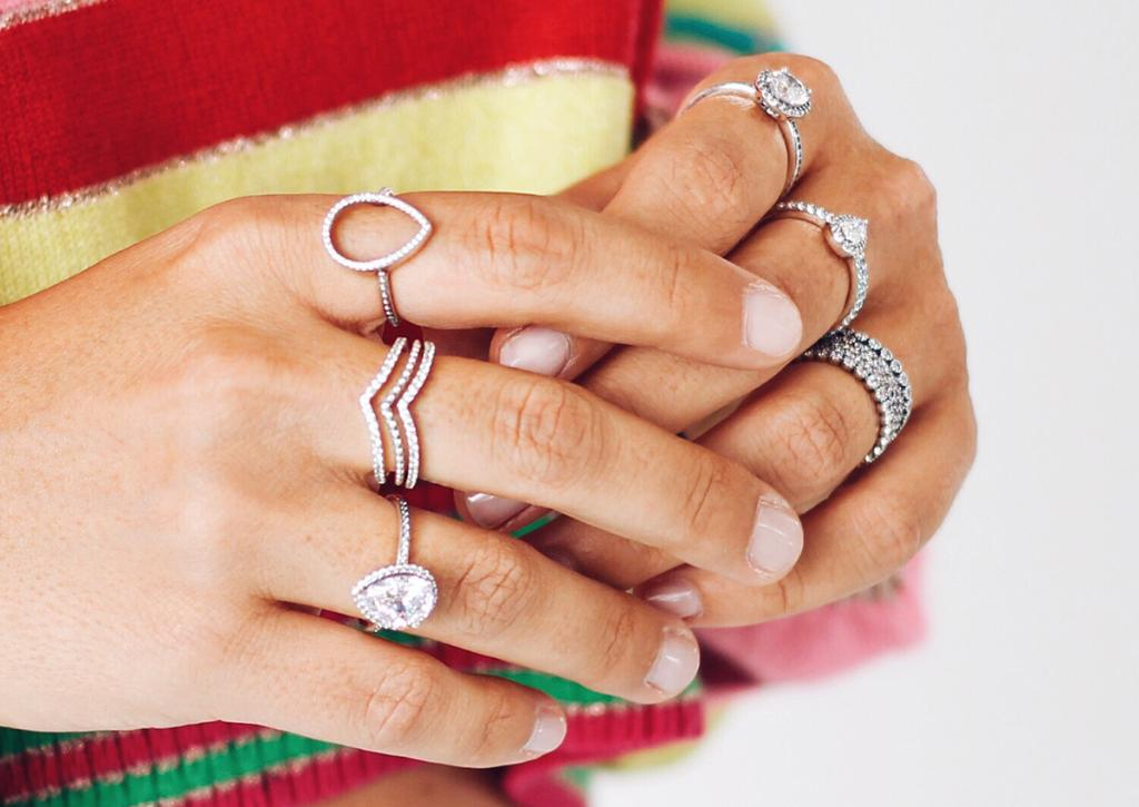 90a376d79 #PANDORALoves this stack of sparkling silver and teardrop-inspired rings,  via Alice de Togni http://po.st/x4NTAL pic.twitter.com/X2Ms6Ic4bk