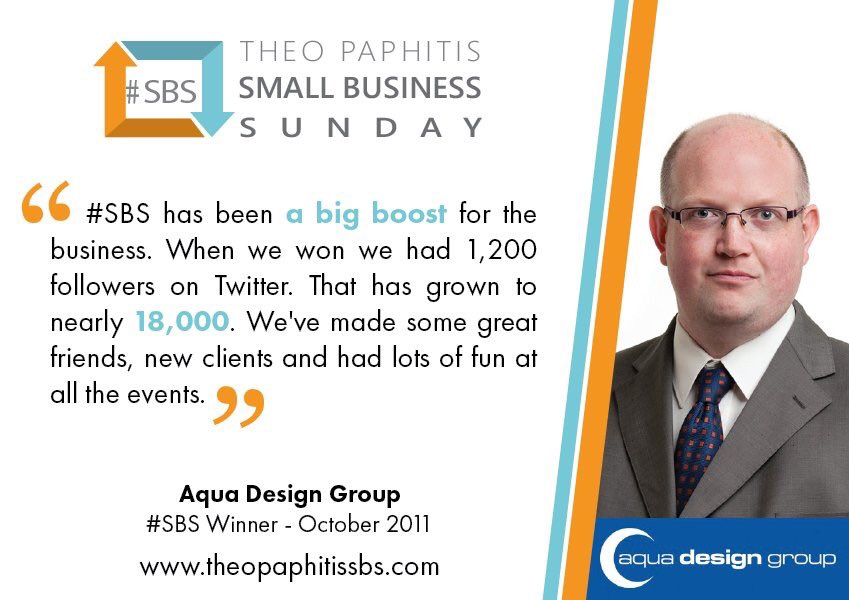 Good luck to all the #SmallBusiness taking part in @TheoPaphitis #SBS competition today 5-7.30pm.<br>http://pic.twitter.com/icit2W22ZZ