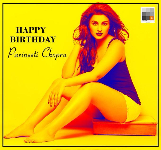 Here\s wishing Parineeti Chopra, a very Happy Birthday.