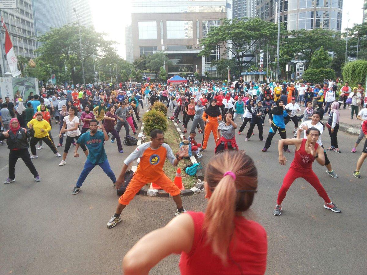 CFD Ditiadakan, Ruas Jalan Sekitar Senayan Ditutup