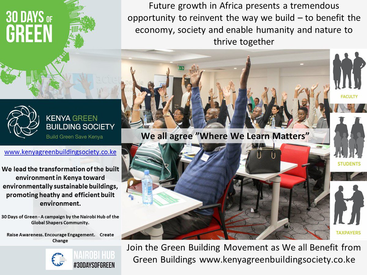 The #green #building movement provides tremendous opportunities for #african growth @infoKGBS #30DaysOfGreen<br>http://pic.twitter.com/aXqk1tvKy9