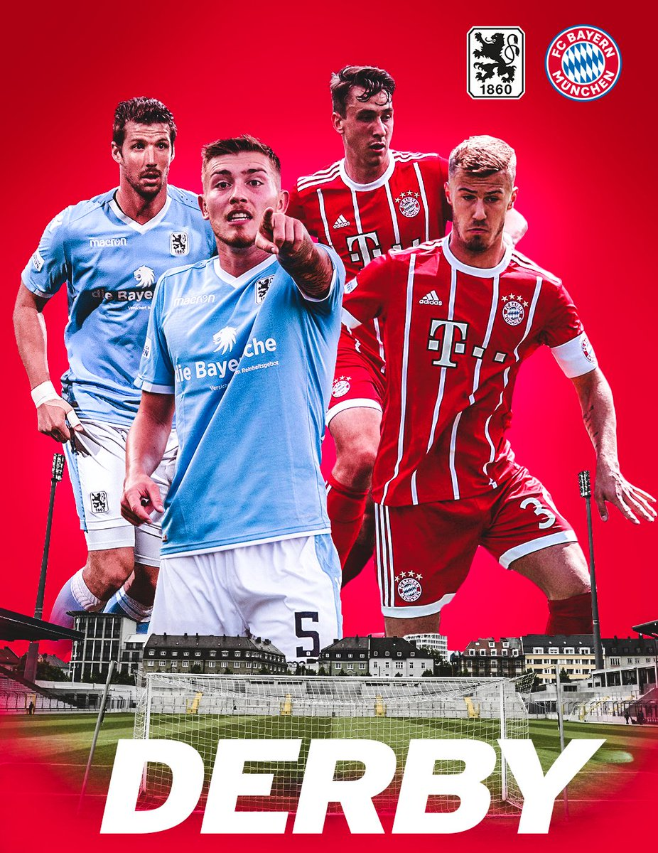 It's derby day! Bayern Munich II take on @TSV1860 at 15:00 CEST today!...