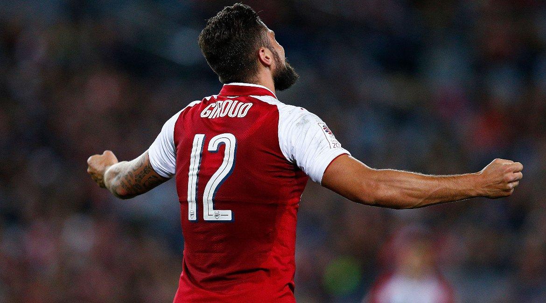 💯 Games taken to reach 100 goals for Arsenal:  Olivier Giroud - 233 Ro...
