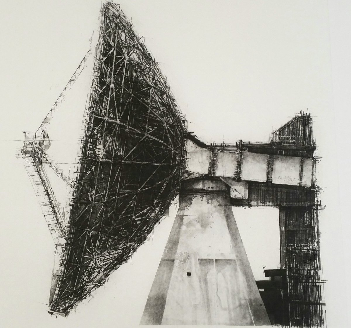 Sat.I and other #etchings showing @WoolwichCPF open today and tomorrow. Great mix of #printmaking #etching #intaglio #goonhilly #drawing <br>http://pic.twitter.com/AV5328HwnC