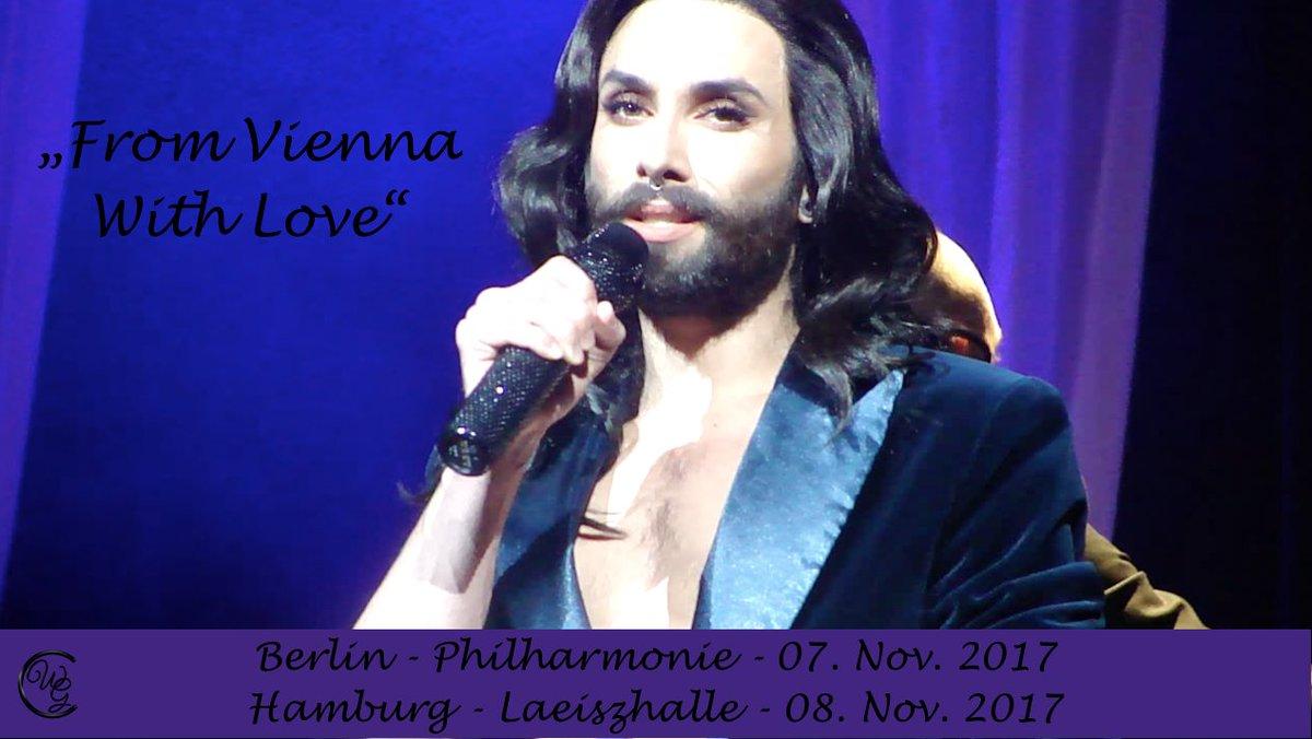 From #Vienna With #Love - #Conchita im November in #Berlin &amp; #Hamburg!!! tickets:  http:// bit.ly/FVWLBLN  &nbsp;   oder  http:// bit.ly/FVWLHAM  &nbsp;   <br>http://pic.twitter.com/htxb46CaLO
