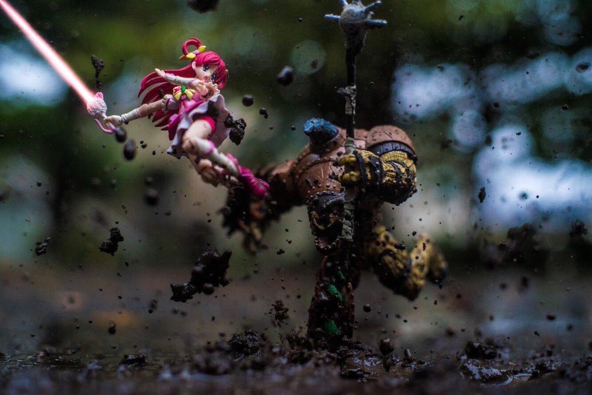 荒廃した世界で仲間を失いながらも一人孤独に戦い続けるキュアドリーム pic.twitter.com/lSoURhQtoW