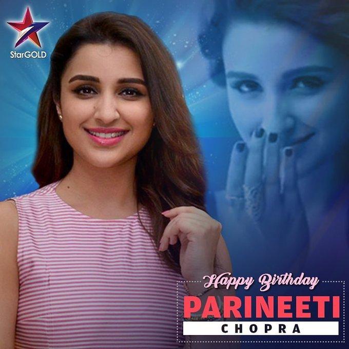 Happy birthday to you Parineeti Chopra
