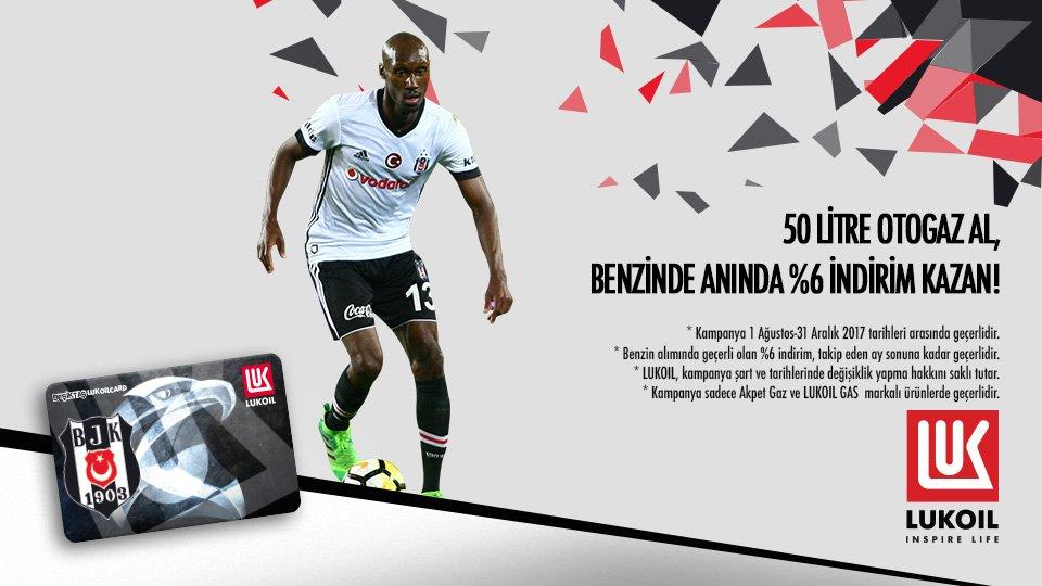 Beşiktaş Lukoil Card ile her zaman kazanırsın! Detaylar:   @lukoilturkey