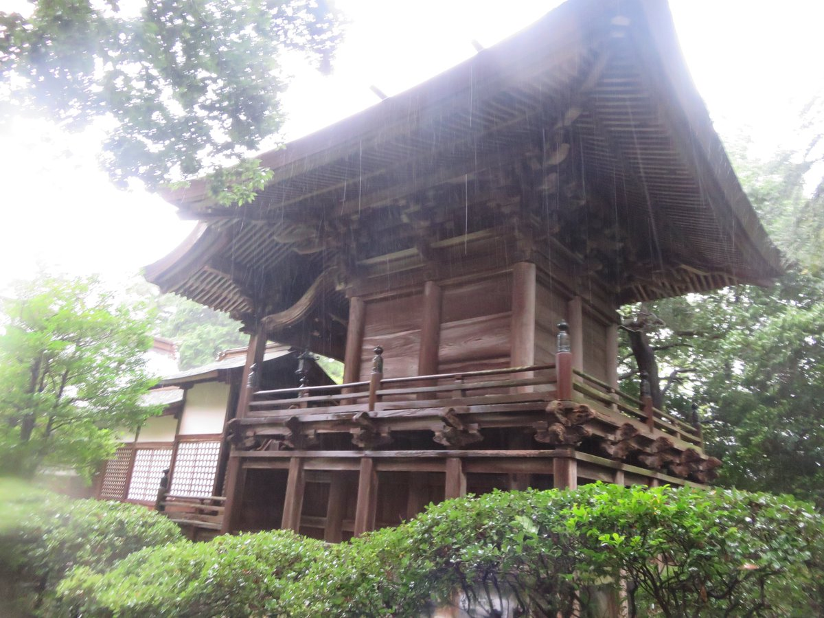"秋庭 در توییتر ""但馬・正法寺城跡。 現在は山王山日吉神社の境内と ..."