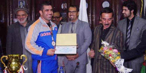 Ceremony Held In Honor Of #Zurkhaneh Team's Win In Nepal   #Afghanistan https://t.co/PWGidebBhg