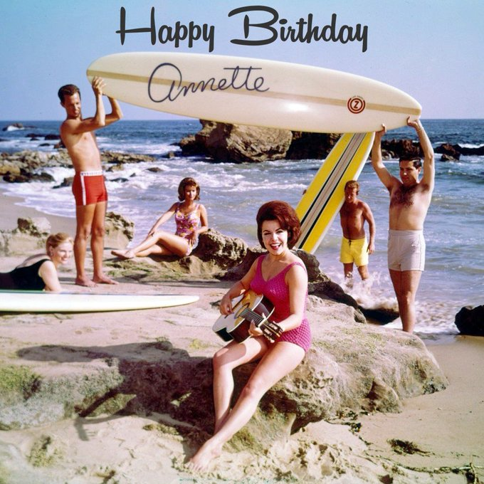 Today would have been the 75th birthday of Disney Legend Annette Funicello. Happy birthday Annette! We miss you.