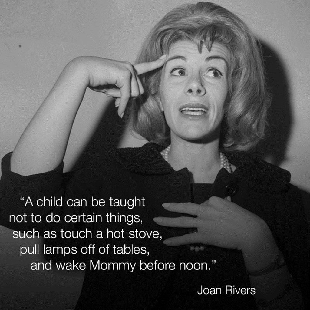 #WordsofJoan #JoanRivers https://t.co/c3YcC3GMRX
